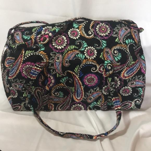 NWT Vera Bradley Bandana Swirl Large Duffle Bag ffe887b6d8bb2